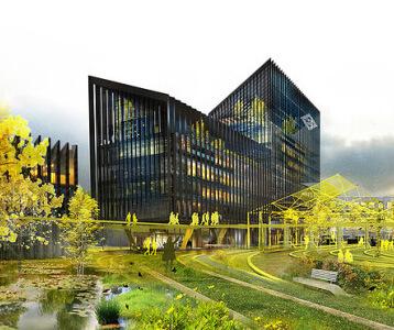 Edificio energia renovable metro madrid