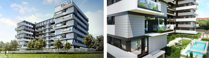 Edificios residenciales con geotermia